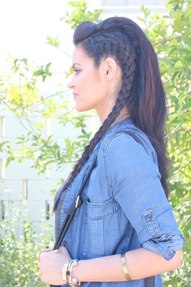 42 Everyday Cute Hairstyles For Long Hair Hair Styles Long Hair Styles Braided Hairstyles