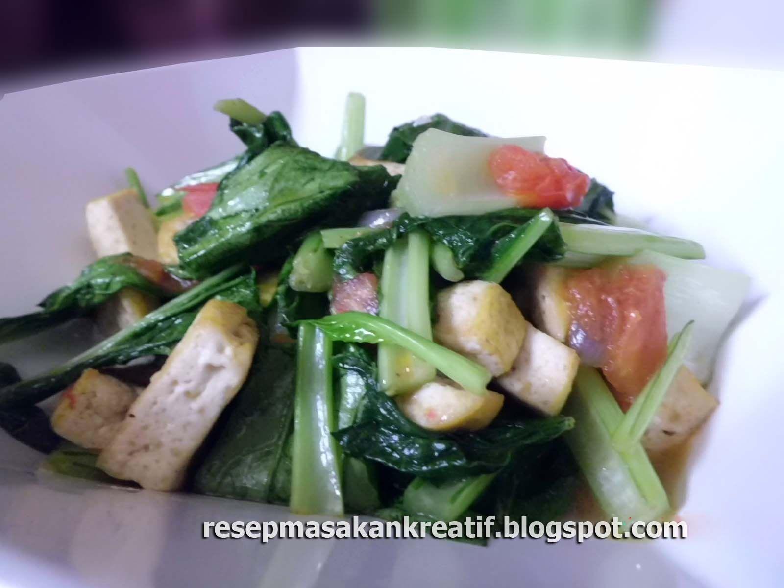 Resep Tumis Tahu Sawi Hijau Resep Resep Masakan Resep Masakan Indonesia