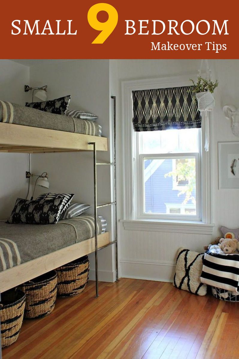 Can you make your small bedroom bigger than before cool