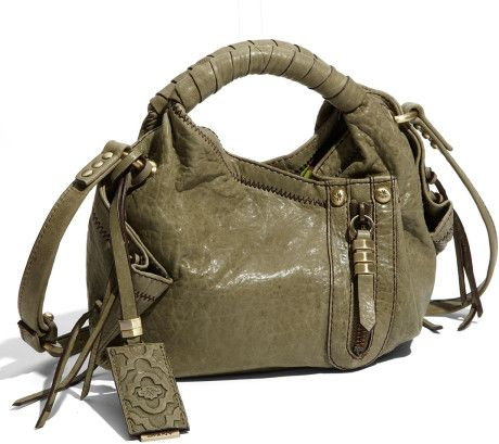 f184fcfb6764 Oryany Handbags Nordstrom | Oryany Heather Mini Leather Crossbody Bag in  Green (olive) - Lyst
