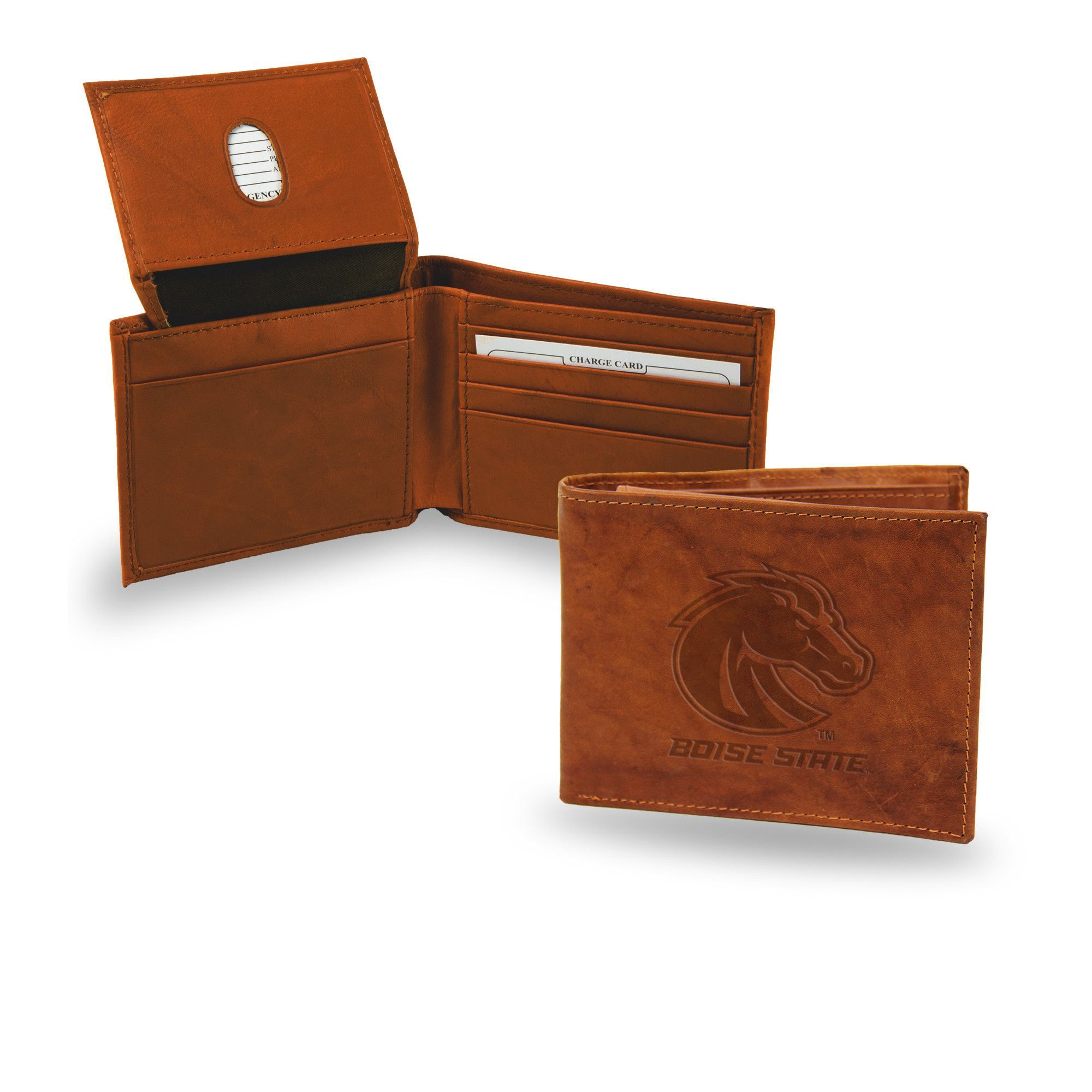 Boise State Broncos Leather Embossed Billfold  544d9e85b4c