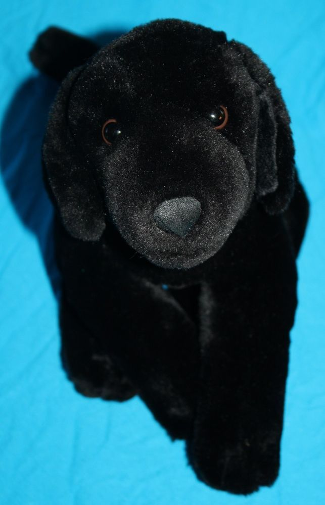 633916bf2b1 Kids Preferred Dog black plush Lab 2000 stuffed animal Labrador Retriever  12