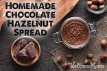 homemade nutella from    - Decadent Desserts -