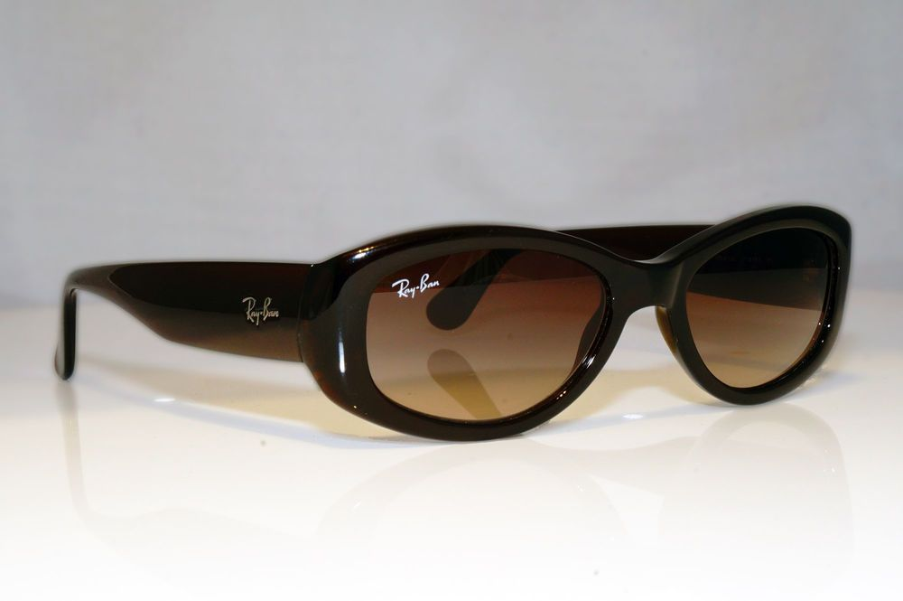 45234fe902 eBay  Sponsored RAY-BAN Womens Designer Sunglasses Brown Rectangle RB 4135  714 13 17104