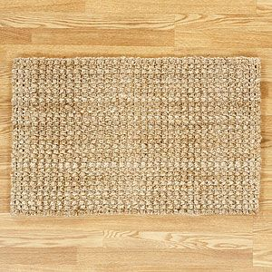 8 X 10 Plain Weave Jute Area Rug With Images Jute Rug Living