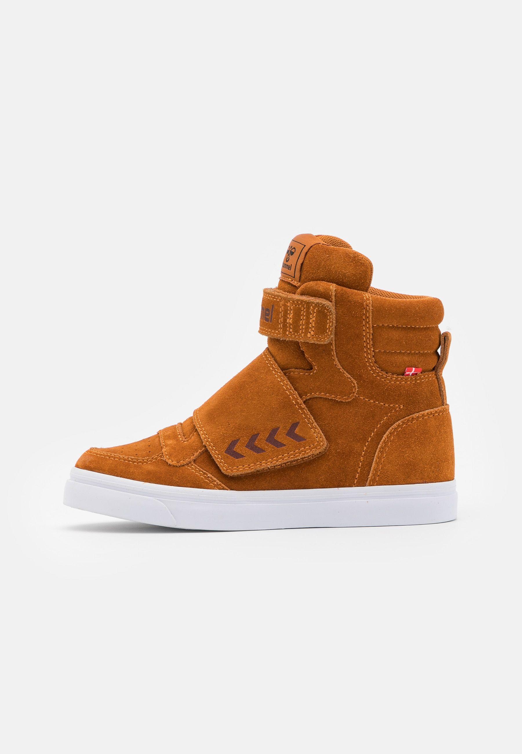 Hummel Stadil Tonal Jr Sneakersy Wysokie Pumpkin Spice Zalando Pl Baby Shoes Top Sneakers High Top Sneakers