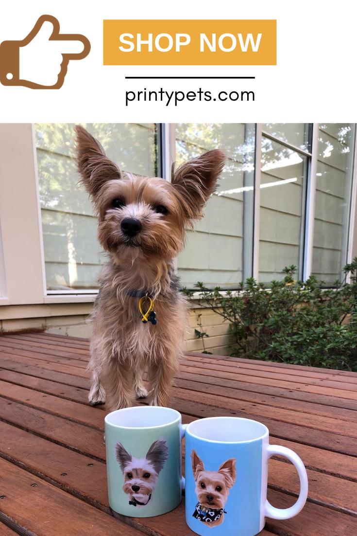Custom Pet Print Coffee Mug Pets Mugs Your Pet