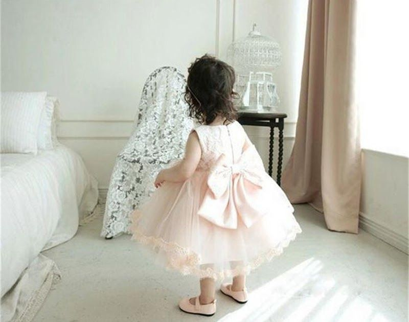 Free shipping Girls Dress For Girl Wedding Party Infant Bebes Summer Dress  Toddler Baby Dresses Cute 17196b6c2817