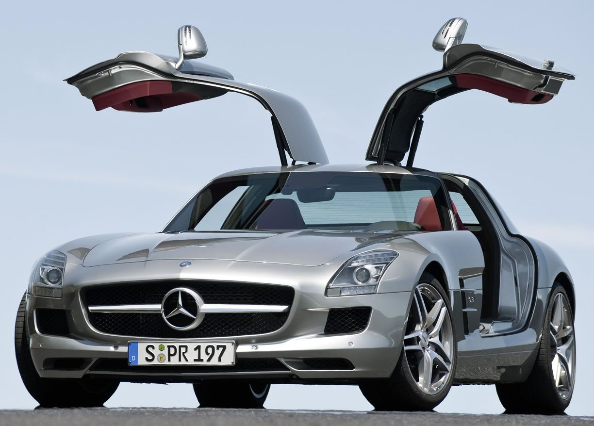 Mercedes Benz Sls Amg The Is A Front Engine 2 Seat Luxury Grand Tourer Automobile Developed By Of German Automaker