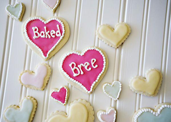 Vanilla Bean Almond Sugar Cookies - Baked Bree