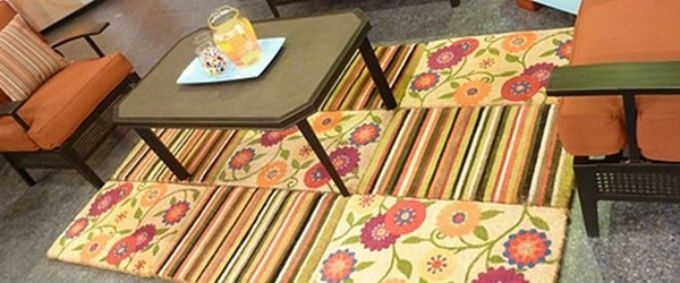 A Roundup Of Fun Smart Ideas For Diy Outdoor Rugs