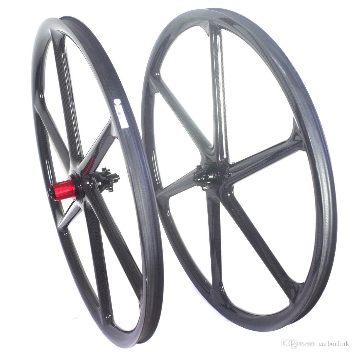29er Six Spokes Carbon Wheelset Bike Wheel Mountain Bike Wheels