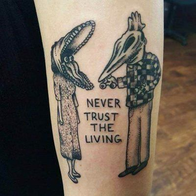 26 Lindos tatuajes para hacer 'match' con tu bruja interior