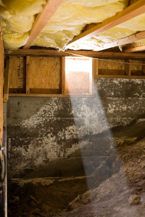 Prevent Your Crawl Space From Becoming A Moldy Mess With A Crawl Space Ventilator From Tjernlund Proudly Crawlspace Pier And Beam Foundation Foundation Repair