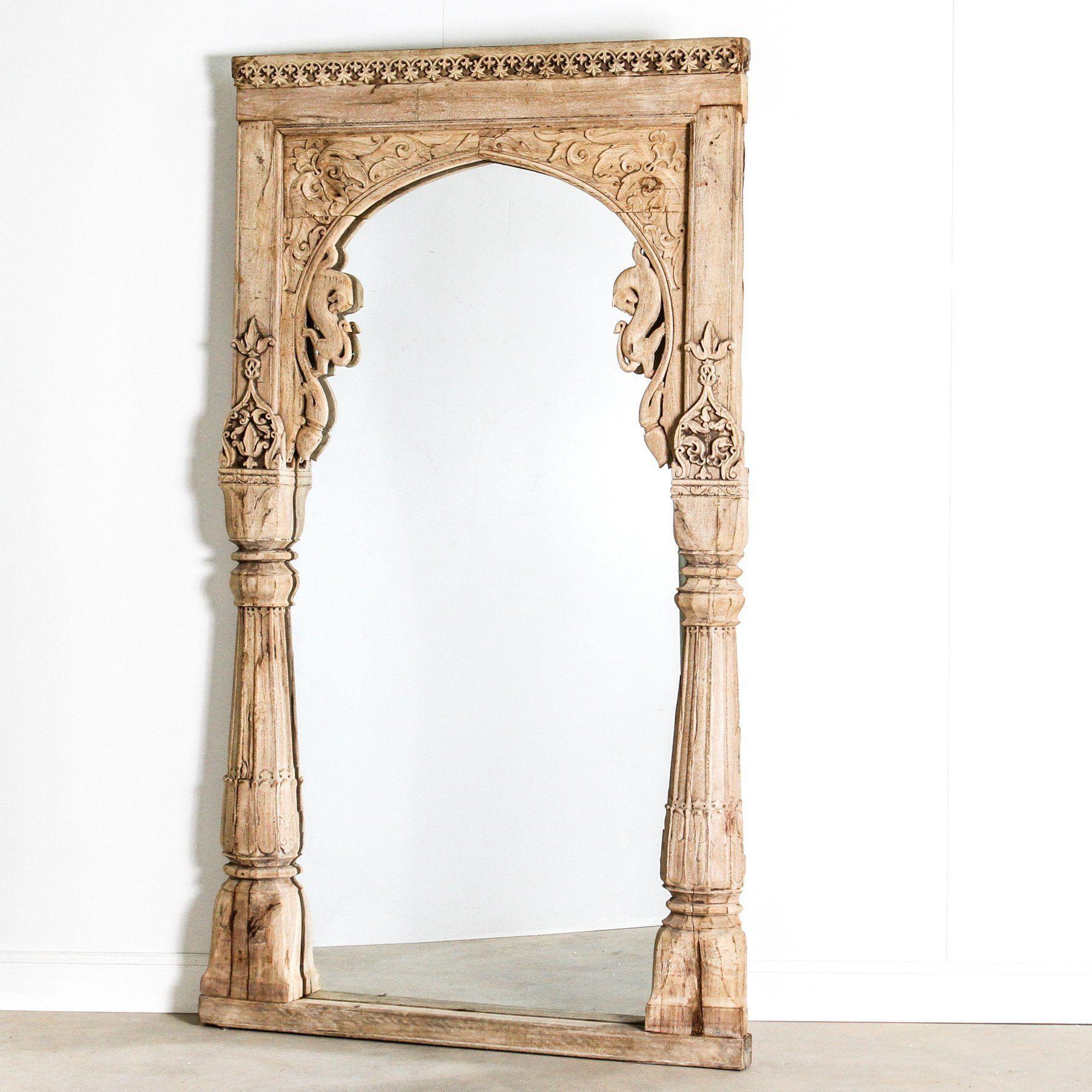 Vintage Indian Archway Mirror in 2020 | Mirror, Mirror ...