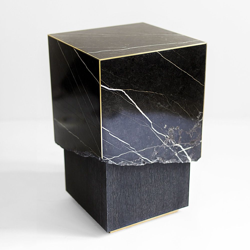Marble live edge side table divider room and marbles