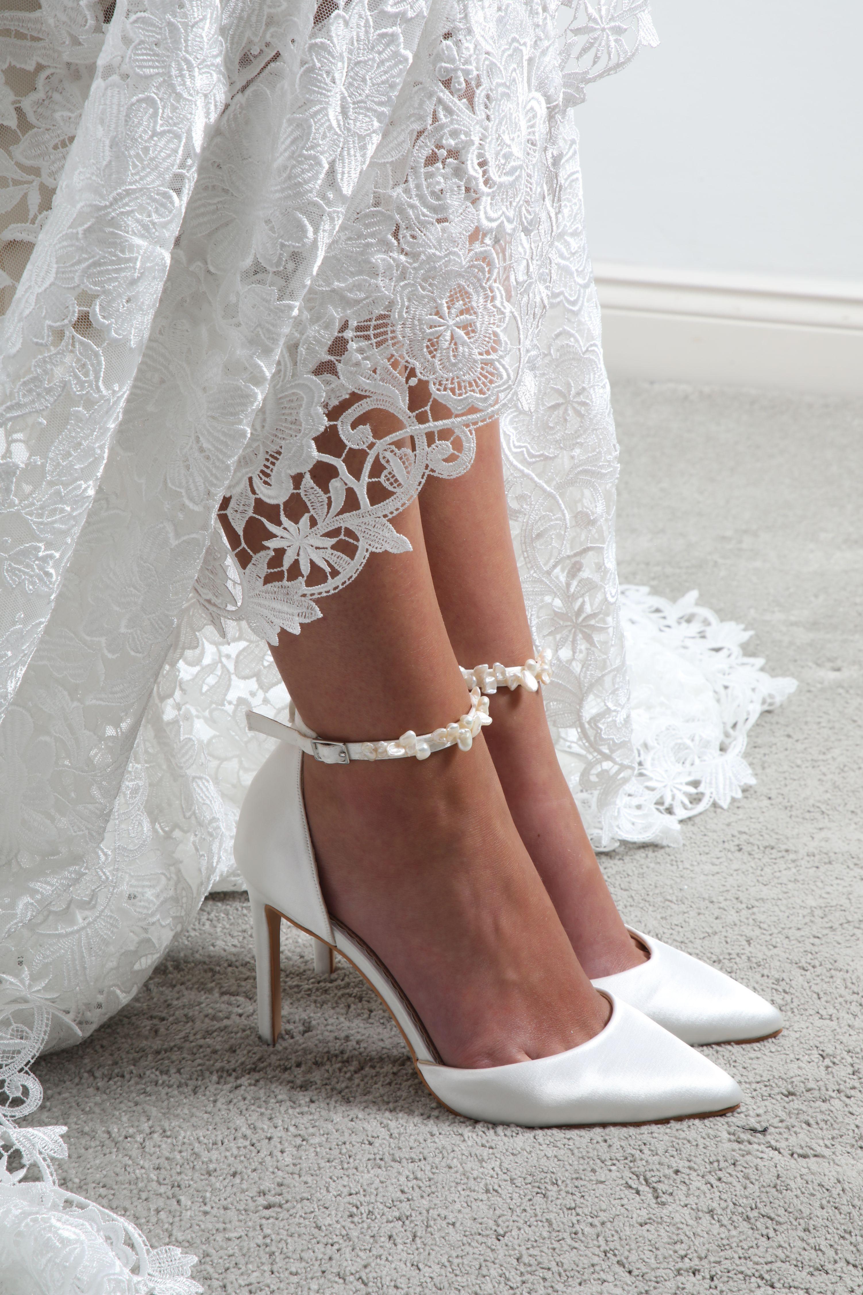 23+ White satin wedding pumps ideas in 2021