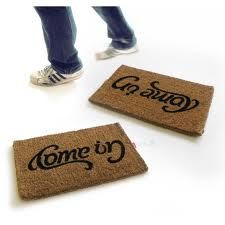 doormat welcome go away