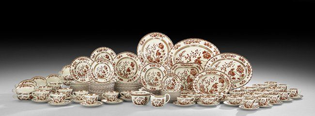 "Spode ""Indian Tree"" Earthenware Dinner Service"