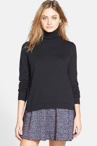 Women's French Connection 'Bambino' Turtleneck Sweater