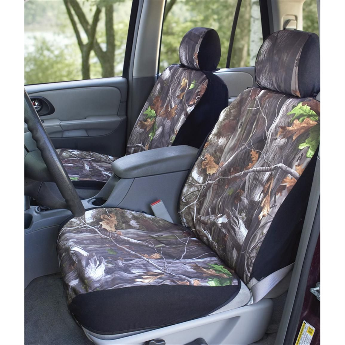 Saddleman® Max Bucket Seat Covers, Next Camo Bench seat