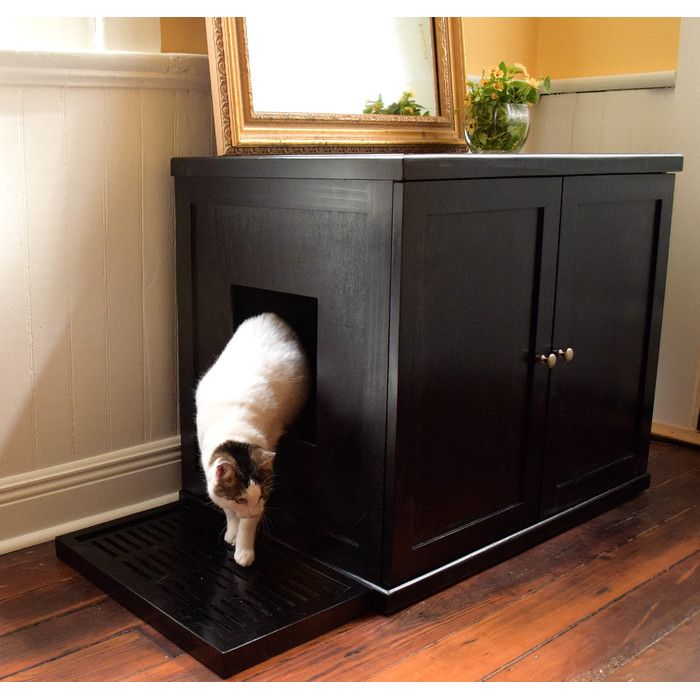 Dog Proof Cat Litter Box 4 Steps With Pictures Dog Proof Litter Box Dog Litter Box Diy Litter Box