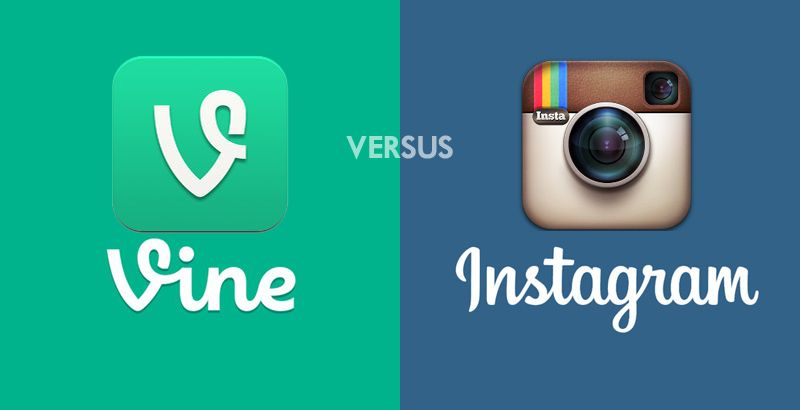Instagram Video Vs Vine Video Advertising Video Marketing