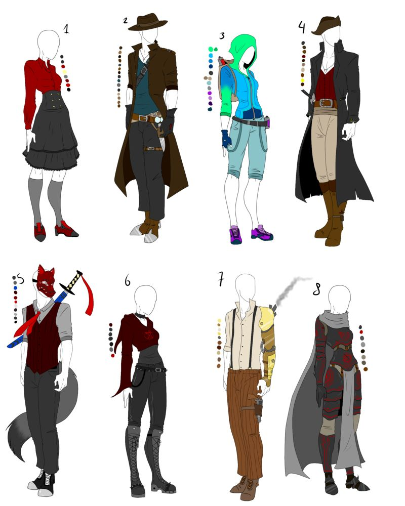 Pin by kayden on design with images anime outfits