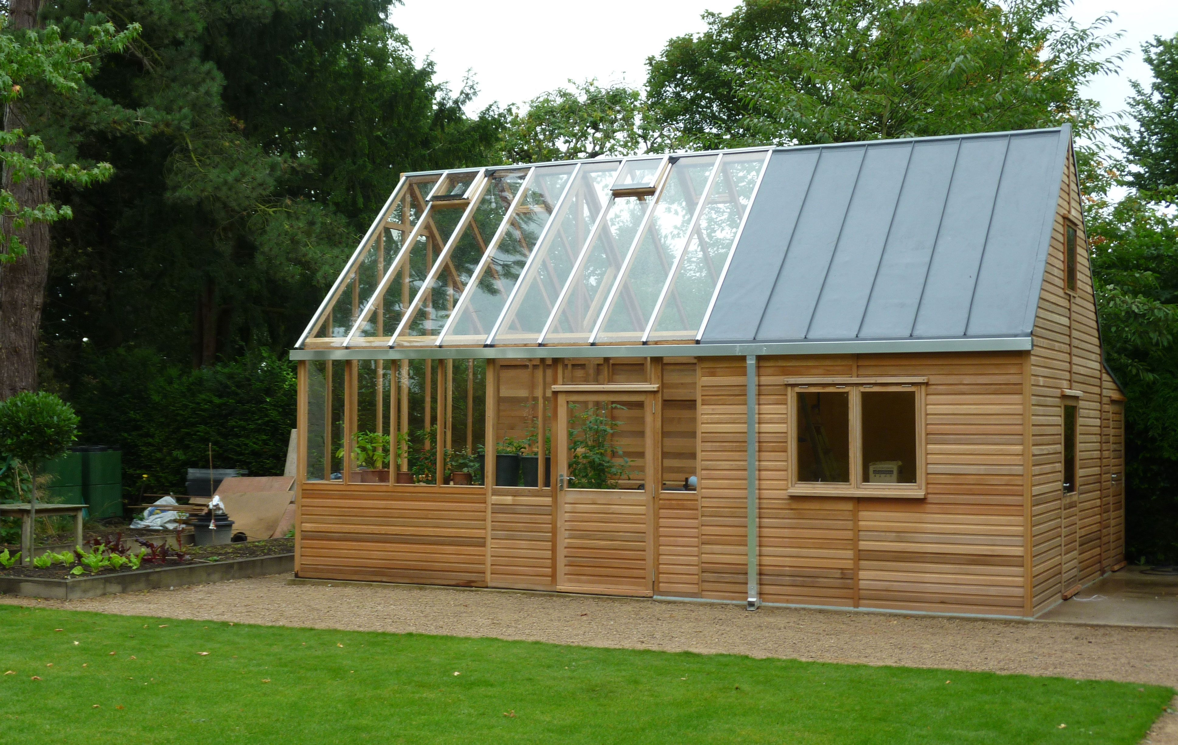 kings bromley greenhouse and garden shed - Garden Sheds With Greenhouse