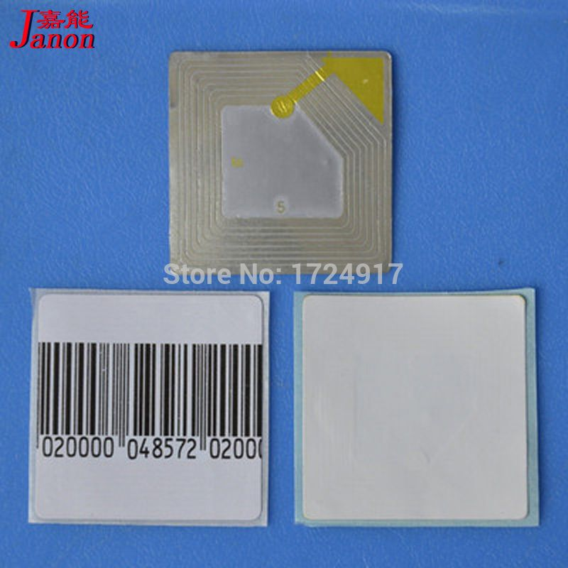 best price Self Adhesive EAS Soft RF label anti theft