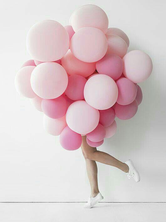 Blanche Le Hir De Fallois : blanche, fallois, Balloons, Picture., Makes, SMILE!!!, Palloncini, Rosa,, Estetica
