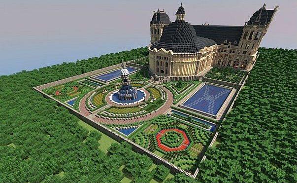 Hughoriev Palace Minecraft World Save
