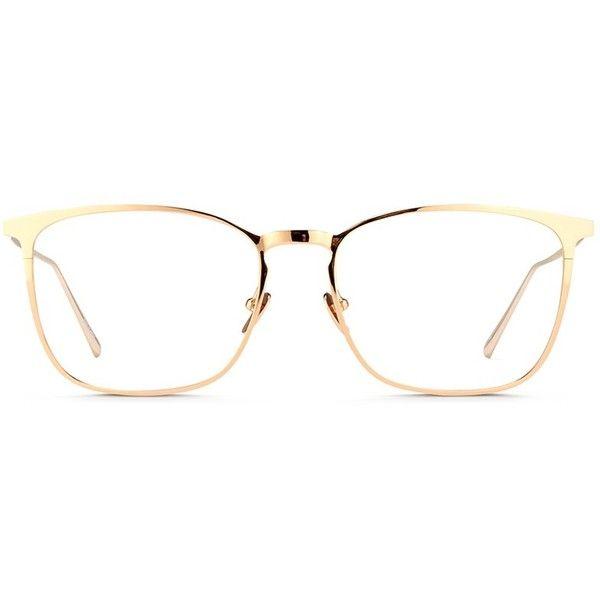 Linda Farrow Titanium Square Optical Glasses 2 815 Sar Liked