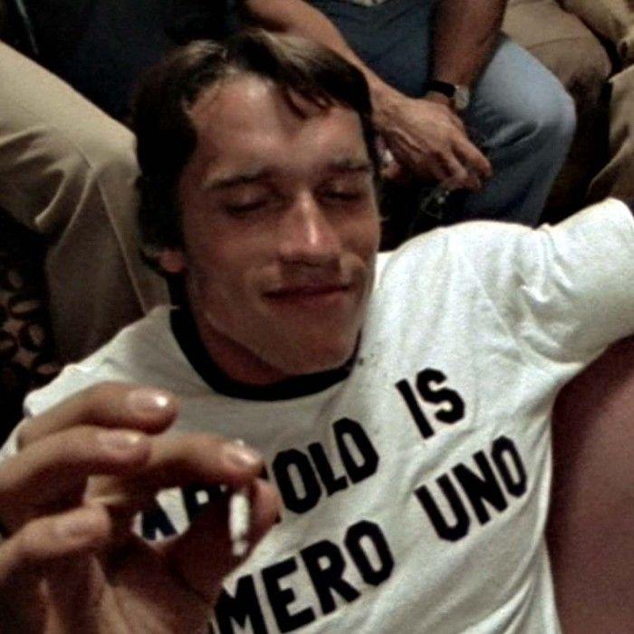 As Worn By Arnold Schwarzenegger T shirt - Numero Uno As Worn By - fresh arnold blueprint day 11
