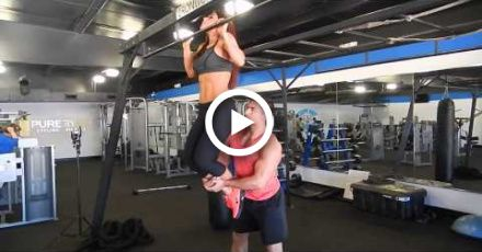 Behind the scenes Couple Fitness Photo Shoot featuring Npc Brittney Boesch and IFBB Pro Chase Savoie...