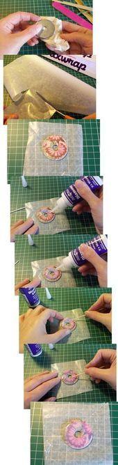 Dinge zu machen und zu tun - Washer Halskette #decopodge Dinge zu machen und zu tun - Washe ....