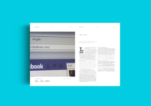 -Dale- magazine by empatía ®, via Behance