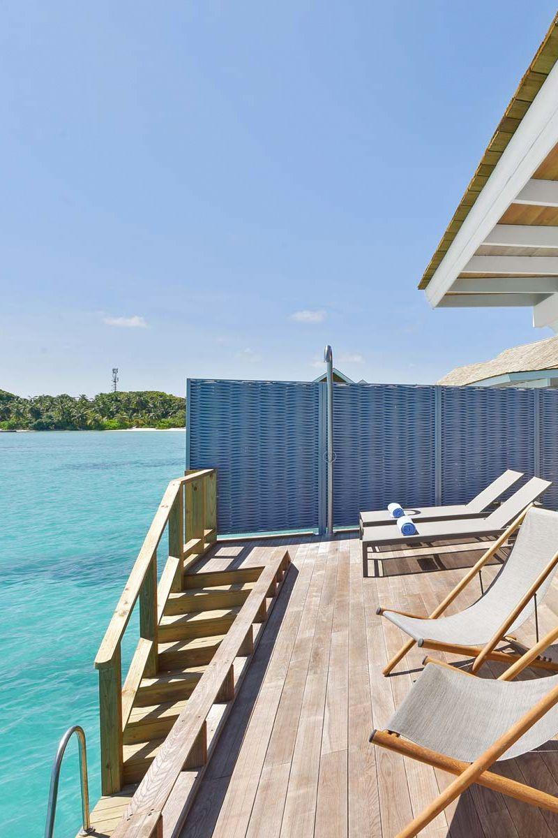 Water Villa Views At Kuramathi Island Resort Kuramathi