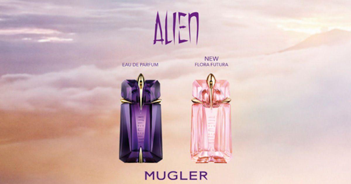 Free sample of mugler alien fragrances perfume samples