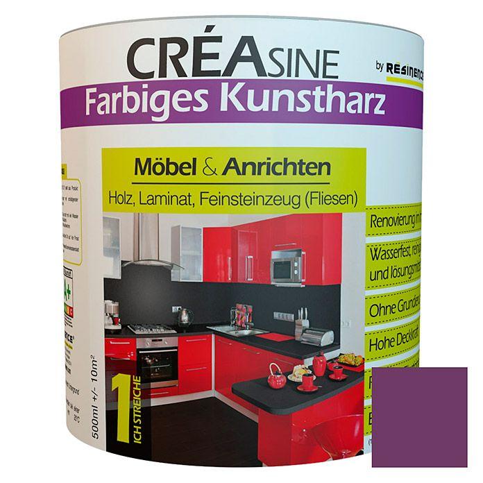 Resinence Creasine Farbiges Kunstharz Pflaume Kunstharz Harz Feinsteinzeug Fliesen