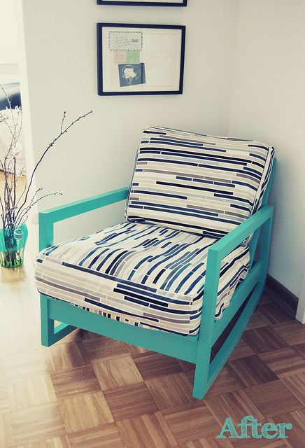 Sensational Love This Chair Redesign By By Happy Serendipity Its Ikea Theyellowbook Wood Chair Design Ideas Theyellowbookinfo