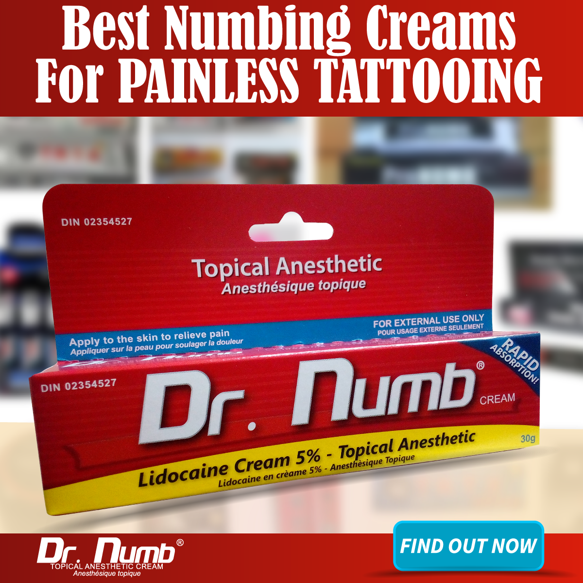 Numbing Cream for Painless Tattooing | Numbing Cream Information ...