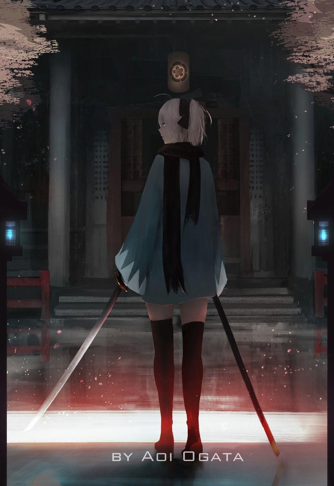 Okita Souji, Aoi Ogata