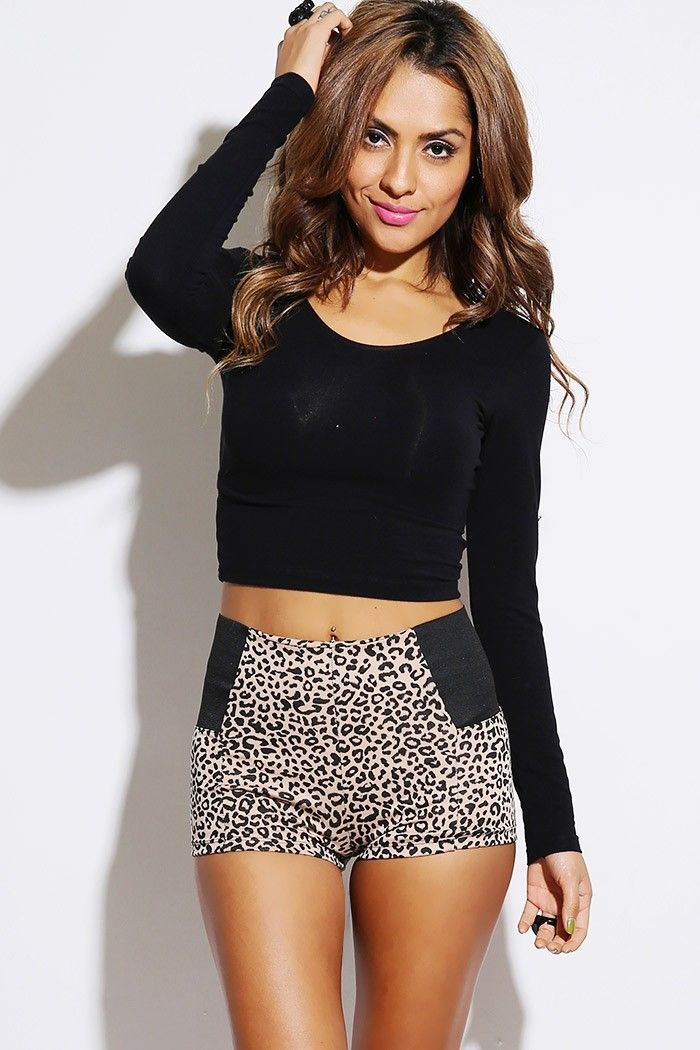 1015store.com #fashion #style leopard animal print stretch banded ...