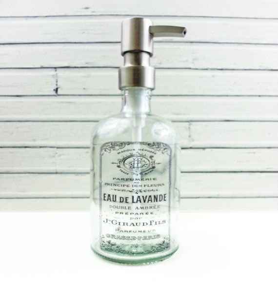 Hand Soap Dispensers French Country Kitchen Decor
