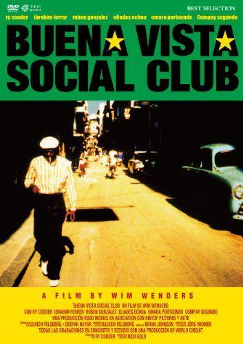 Buena Vista Social Club Documentary Poster Social Club Club Poster