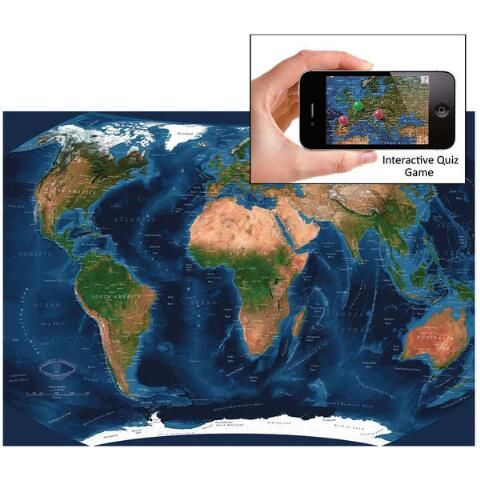 Satellite world map jigsaw puzzle 1000 pcs herrschners satellite world map jigsaw puzzle 1000 pcs herrschners interactive ios global gumiabroncs Images