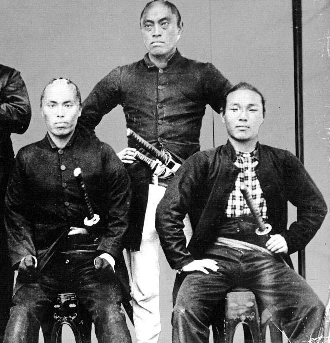 Samurai from the Satsuma clan,...