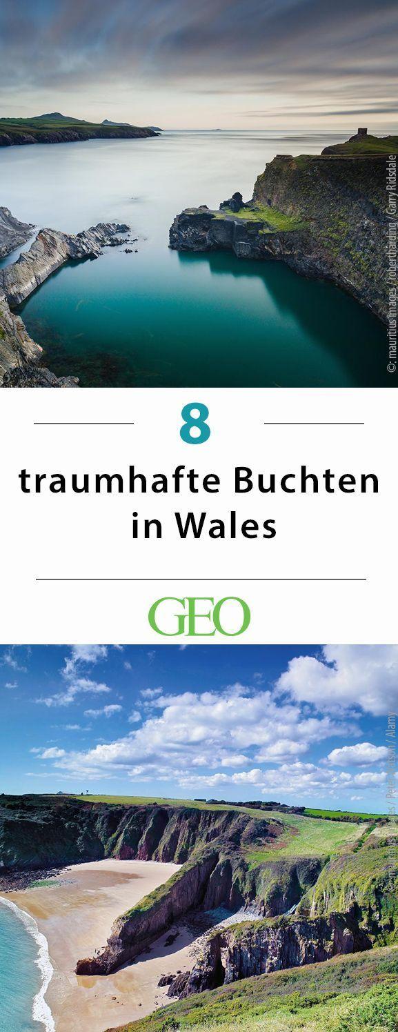 Küstenlandschaften: Diese versteckten Buchten machen Wales zum Strandparadies #visitwales