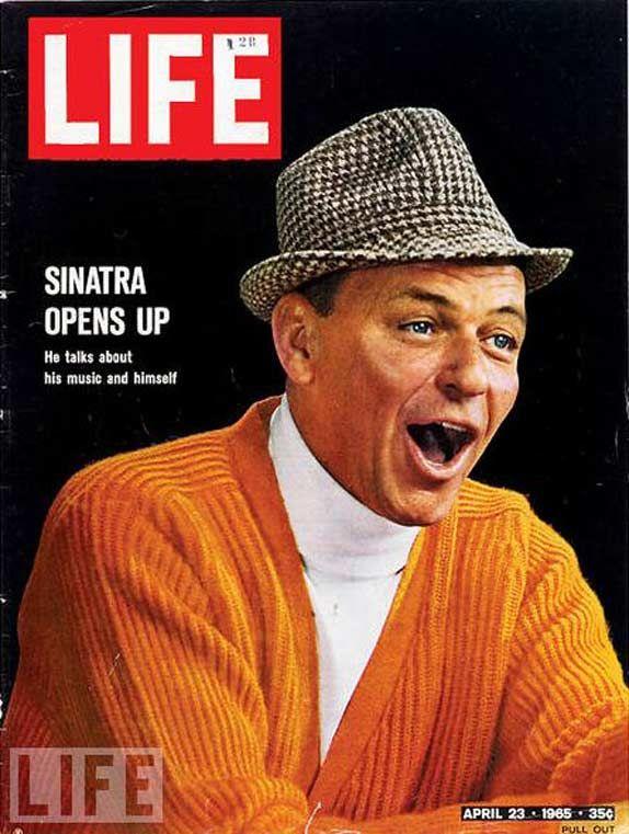 Frank Sinatra April 23 1965 Life Magazine Covers Life Magazine Life Cover